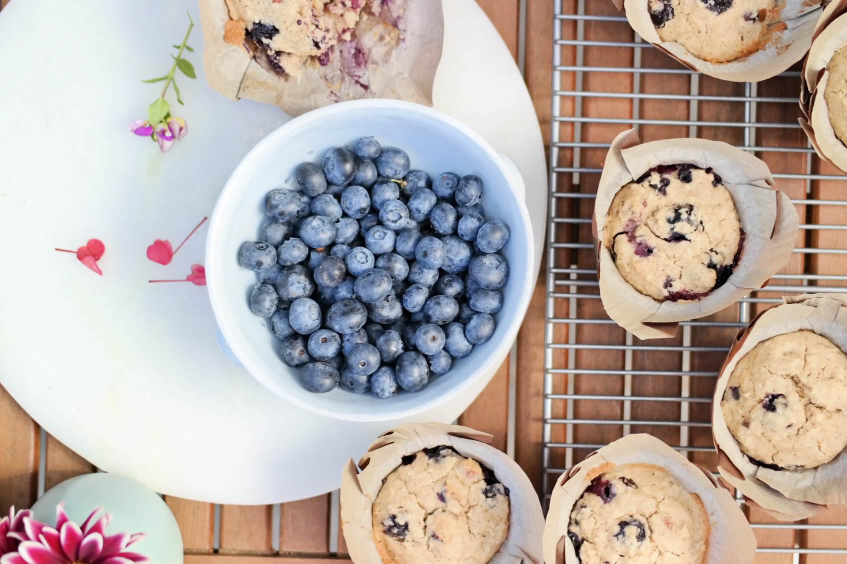 7-Blueberry-Coconut-Muffins | www.8thandlake.com