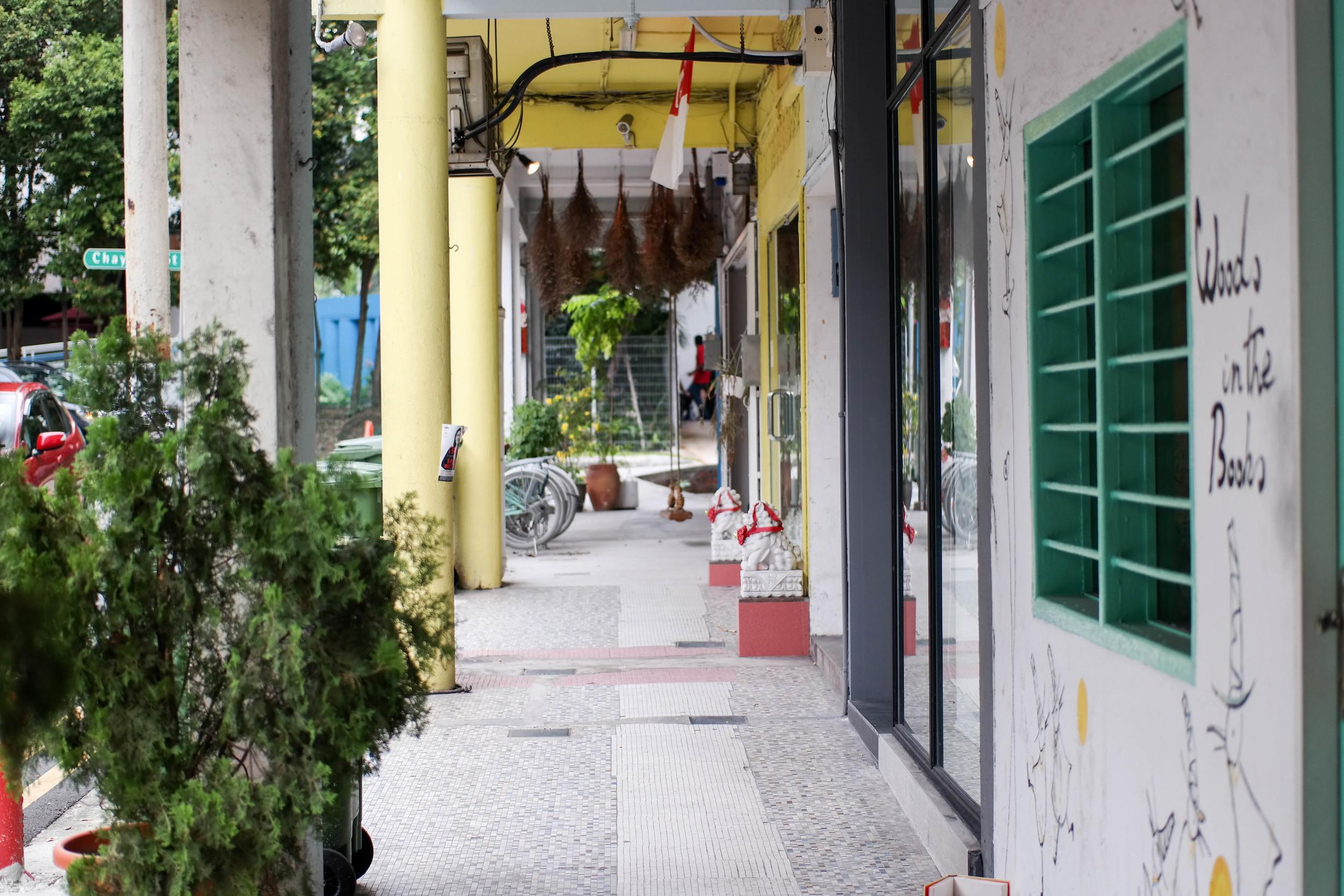 Tiong Bahru Neighborhood