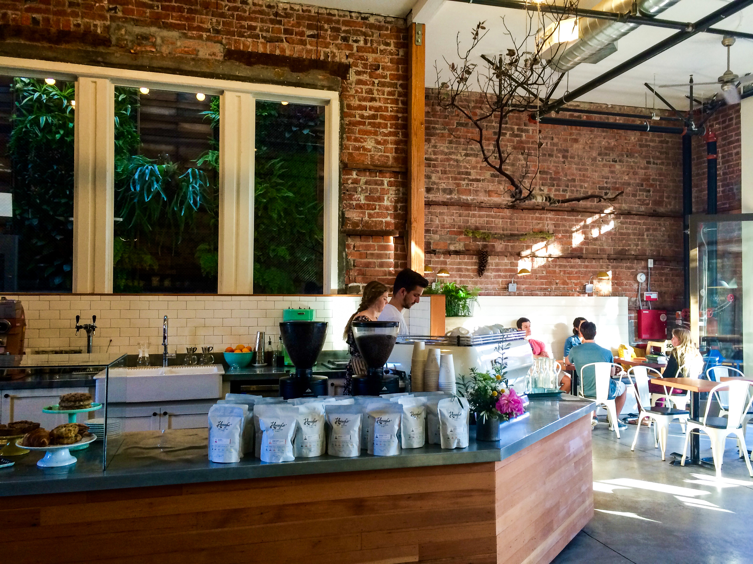 Scotty's Cafe - Go for the homemade almond milk cafe.
