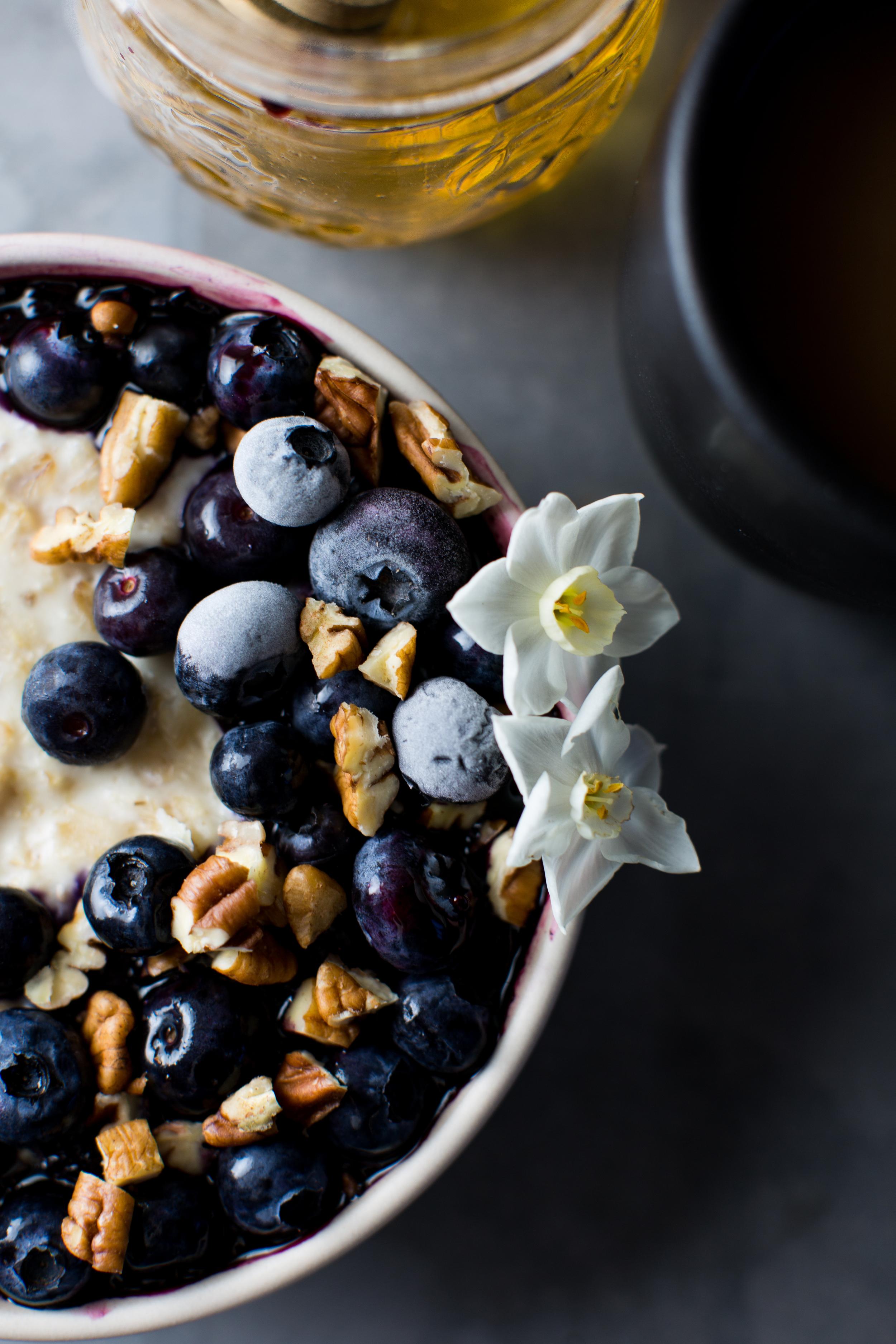 3-Macadamia-Nut-Milk-Porrisge-with-Bluberry-Lemon-Jam   www.8thandlake.com