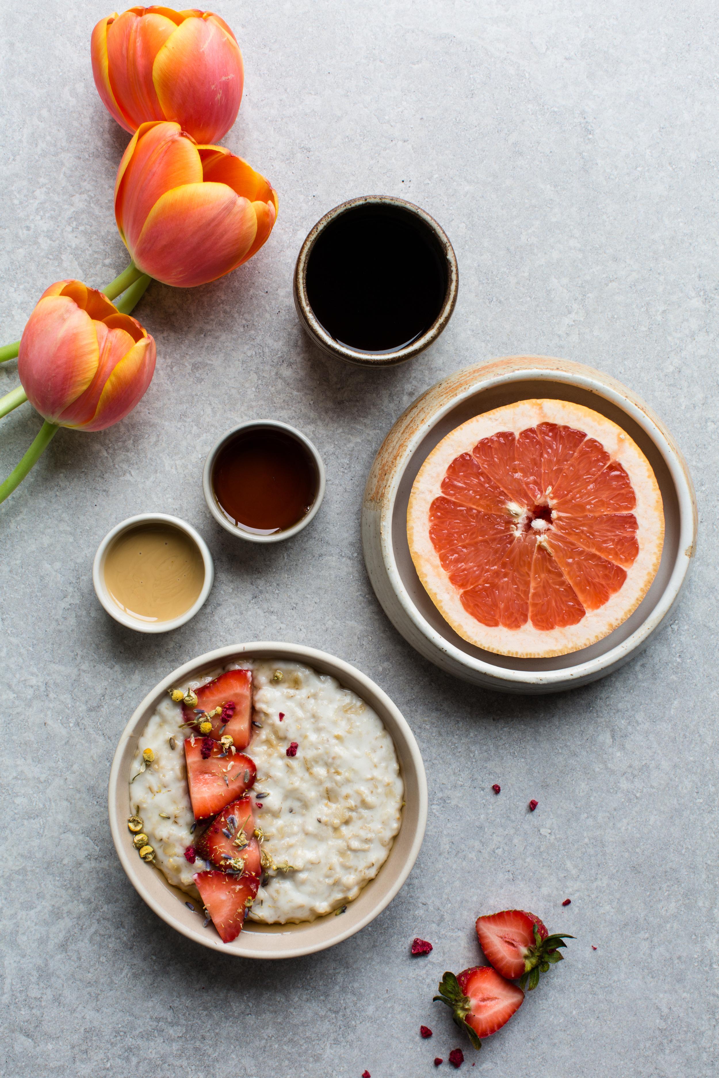 Maple-Tahini-Porridge-with-Vanilla | www.8thandlake.com