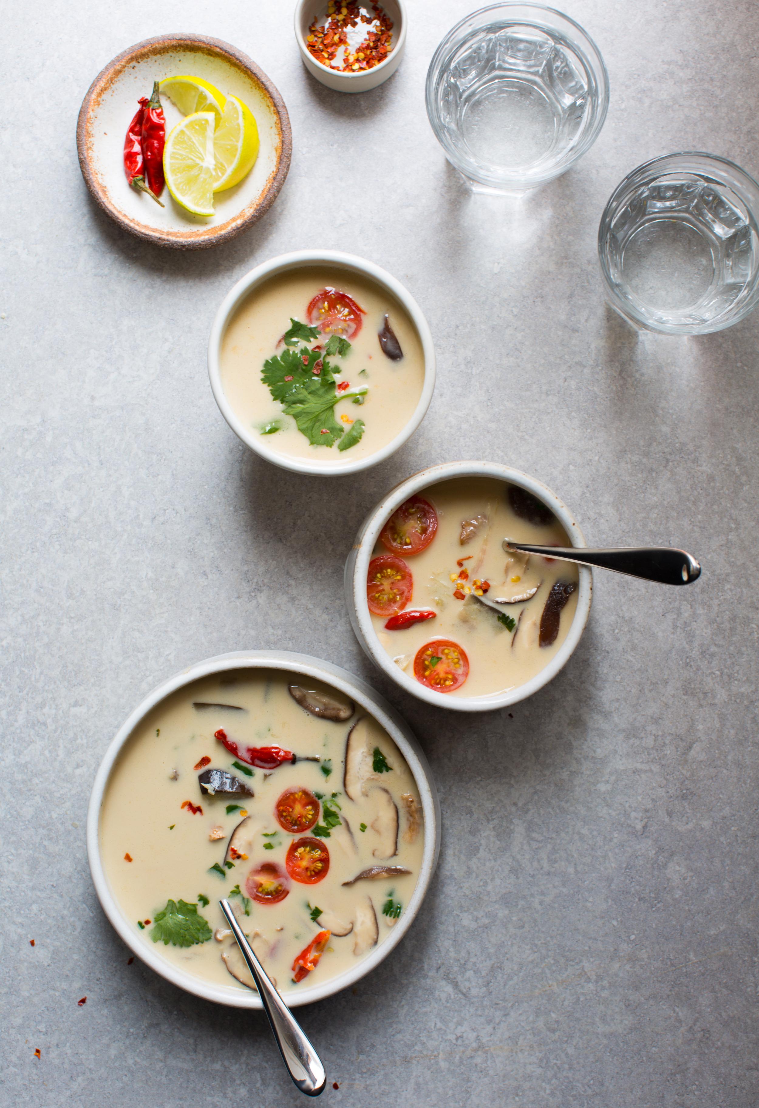Thai-Style-Coconut-Soup -tom-kha | www.8thandlake.com