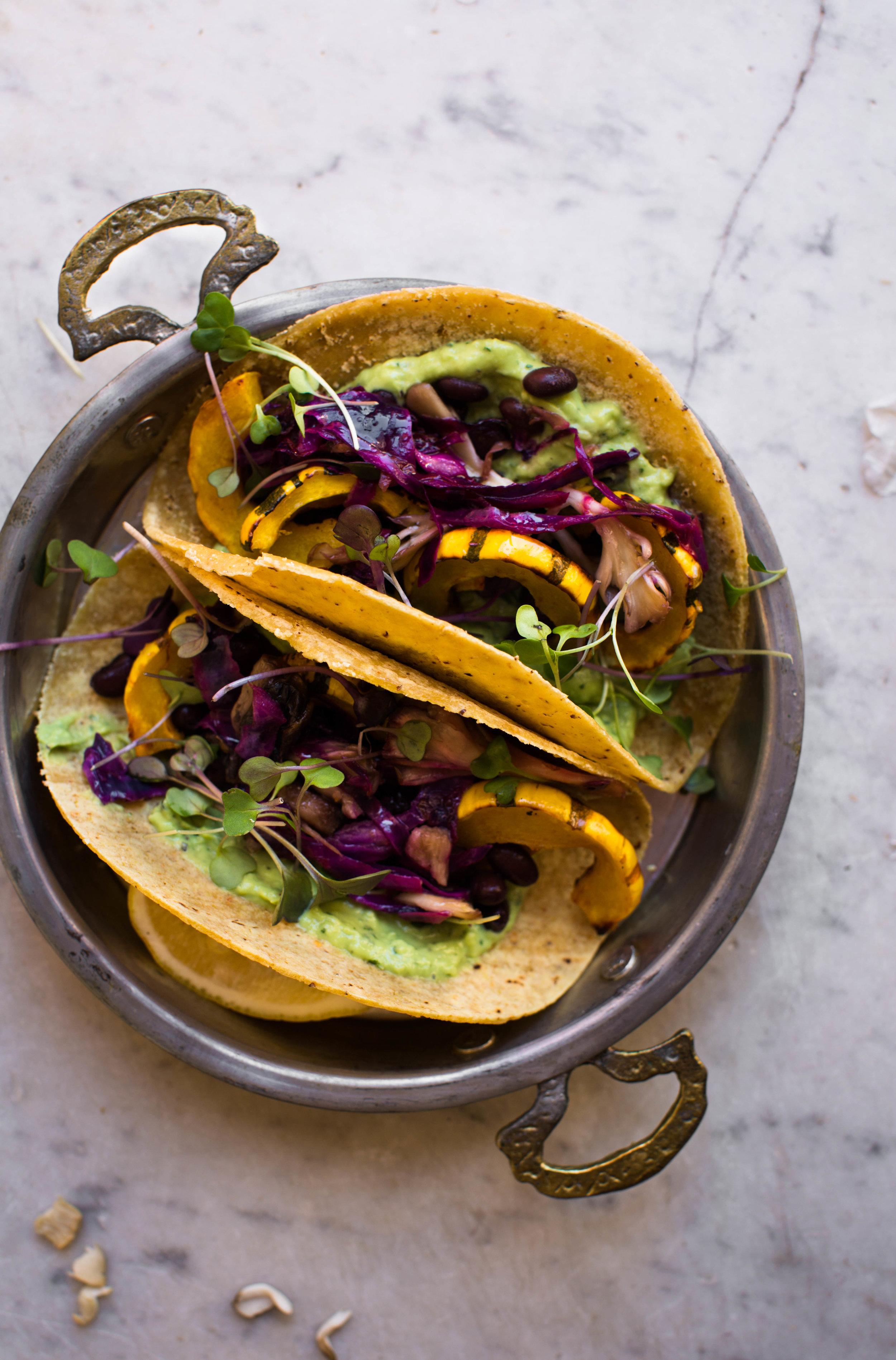 7-Fall-Breakfast-Tacos-with-Avocado-Cream-and-Squash | www.8thandlake.com