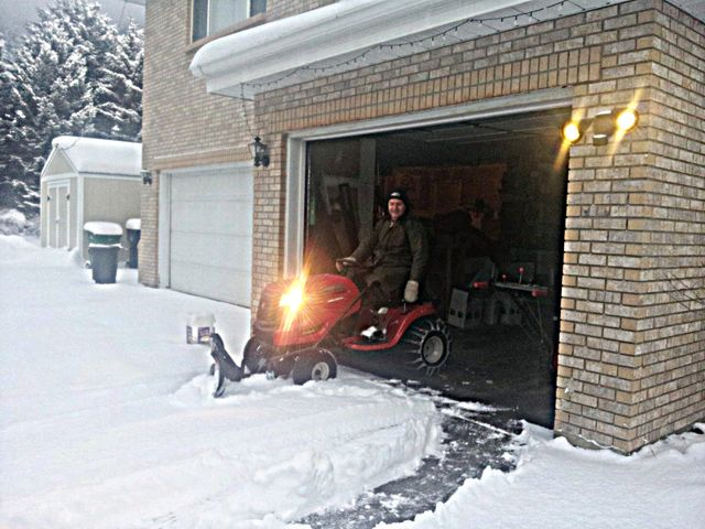 Time to break out the snow plow!