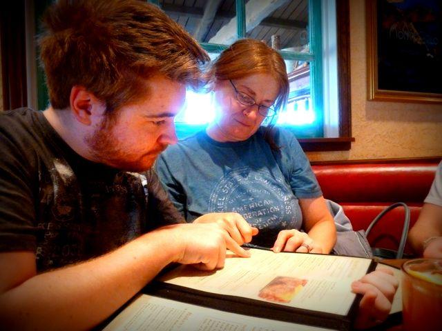 Birthday boy Sean! Breakfast at Mimi's