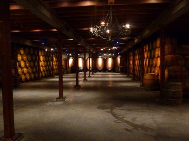 The cellar smelled wonderful