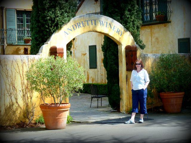 Next stop - Mario Andretti's winery