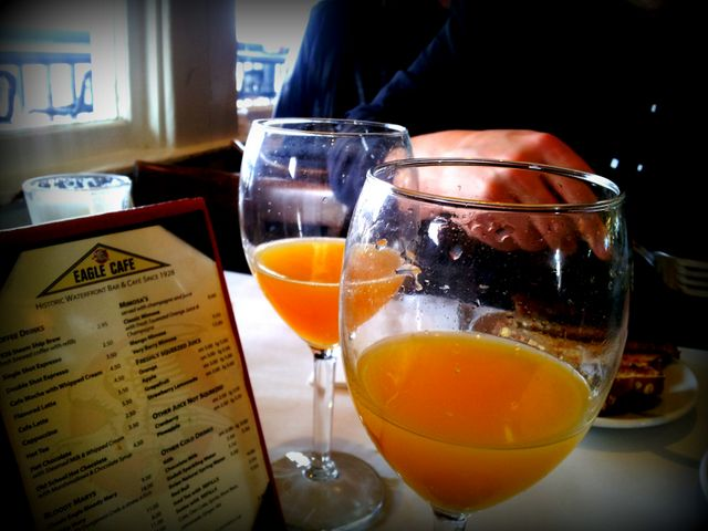 Breakfast Mimosas