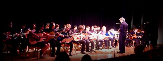 It was a great evening of different guitar pieces
