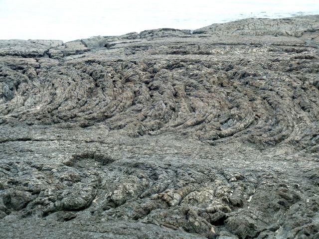 Lava rock everywhere