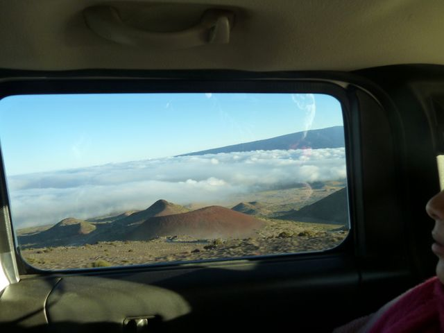 Most of Mauna Kea is below sea level - and if measured from its base is significantly taller than Mount Everest!