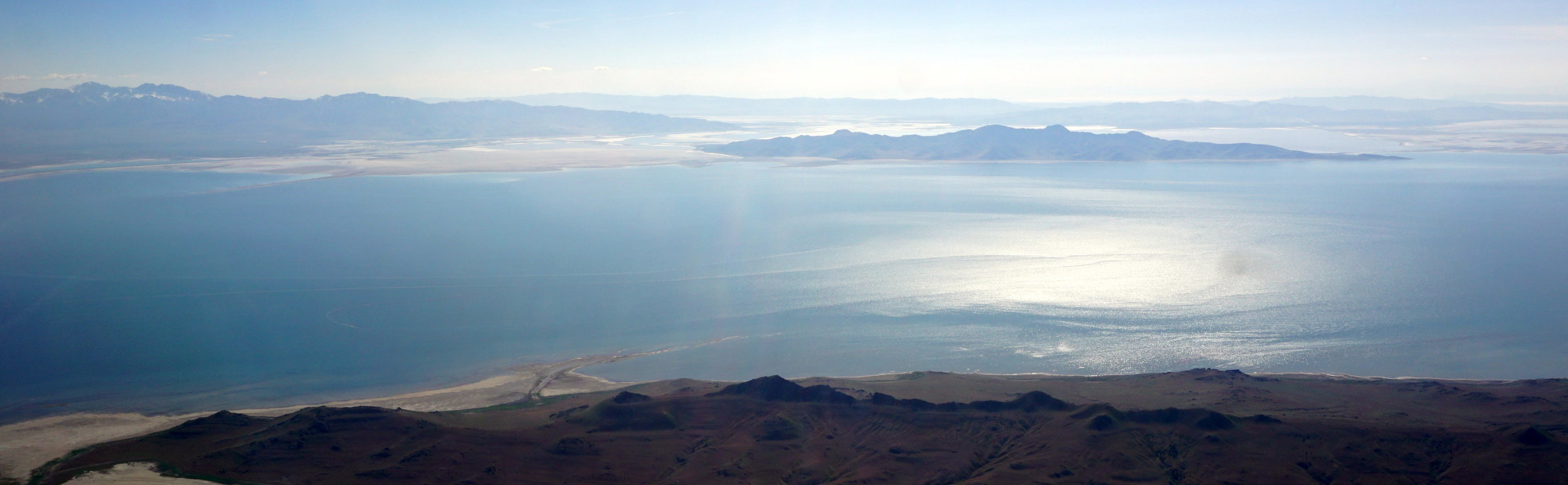 The Great Salt Lake - final approach