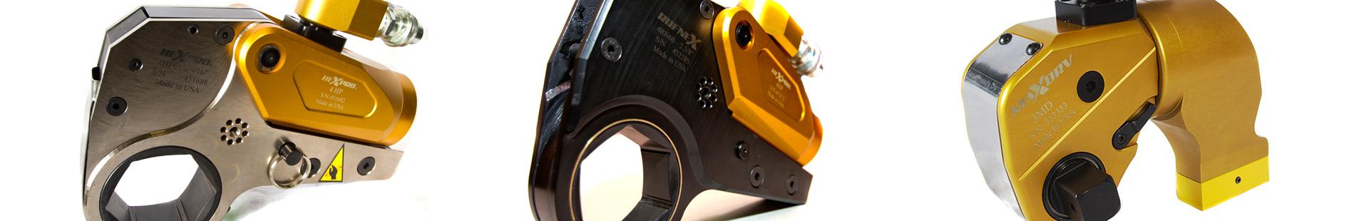 Llaves Hidraulicas Modelos HexPro®, RufNex®,y MaxDrv®