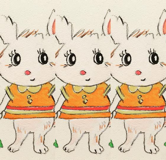 Bunny bunny bunny - I enjoy the layout app for Instagram :)