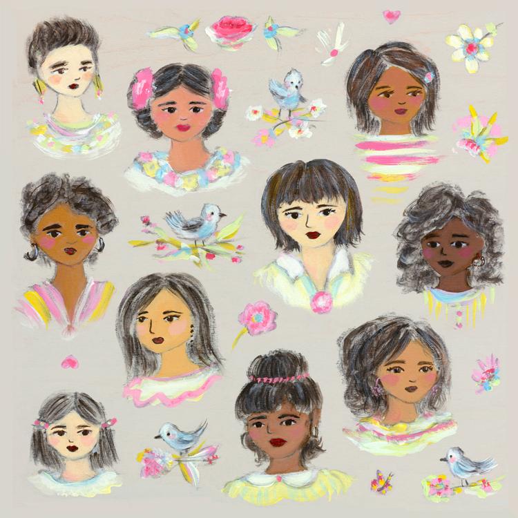 Girls_a-portrait_Allyn_Howard