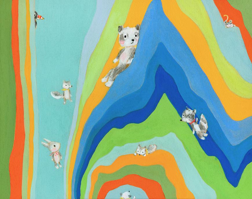 Animals_abstract_Allyn_Howard