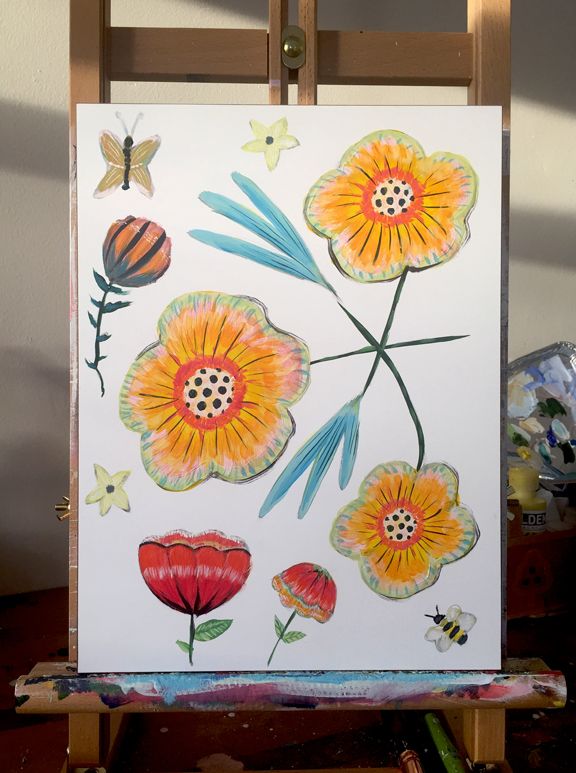 new yellows on easel_Allyn_Howard 19.jpg