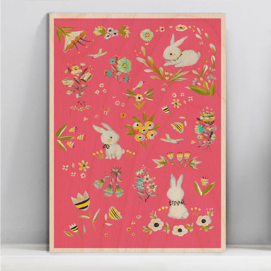 Allyn_Howard_Bunnies-pink_garden-wood-wall-art.jpg