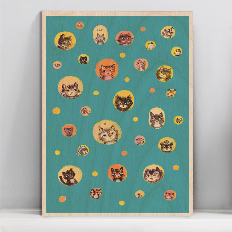 Allyn_Howard-polka-cats_wood_wall-art.jpg