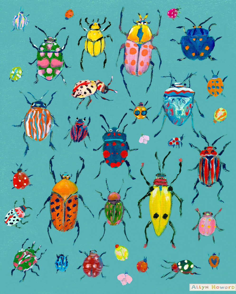 Allyn_Howard_bright-Beetles 2019.jpg