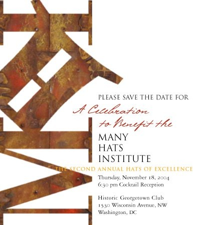 A CELEBRATION TO BENEFIT MHI