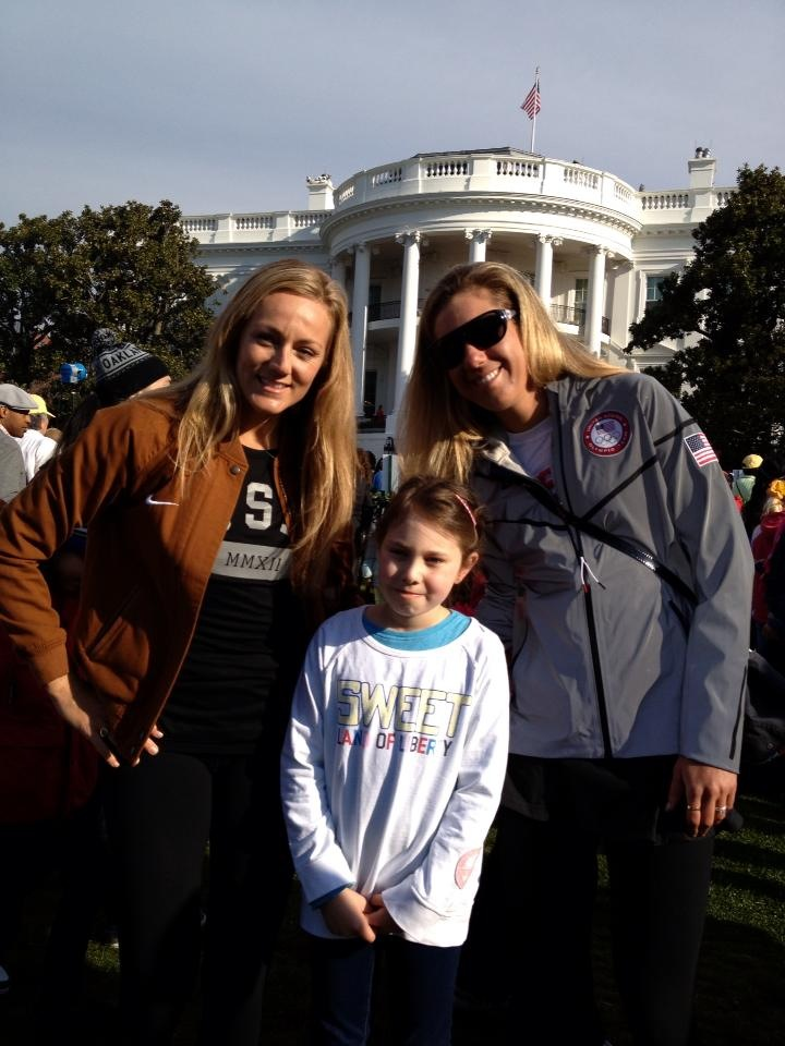 U.S. OLYMPIC VOLLEYBALL TEAM @WHITE HOUSE