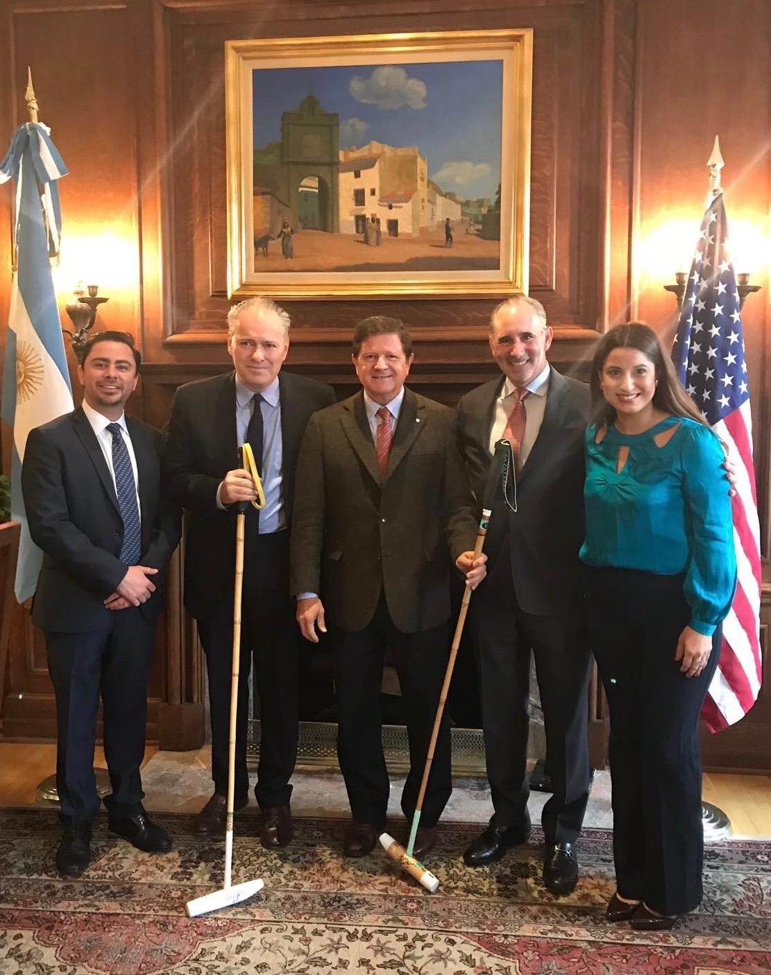 Argentina Heritage Polo Presentation @Embassy of Argentine