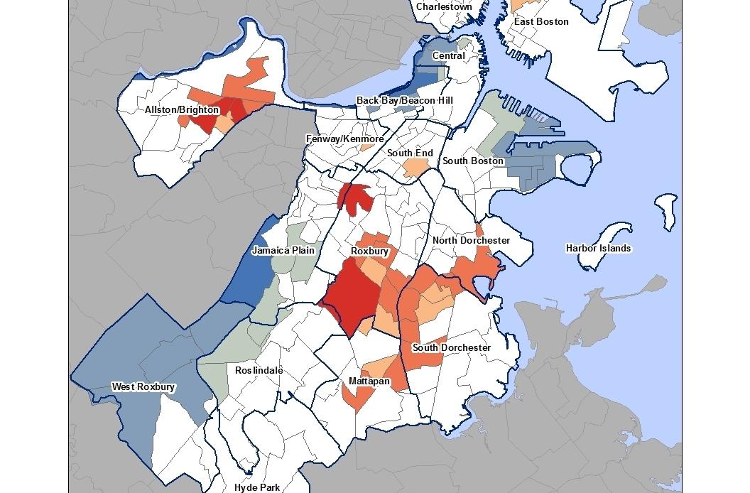 Boston Social Vulnerability Hot Spots