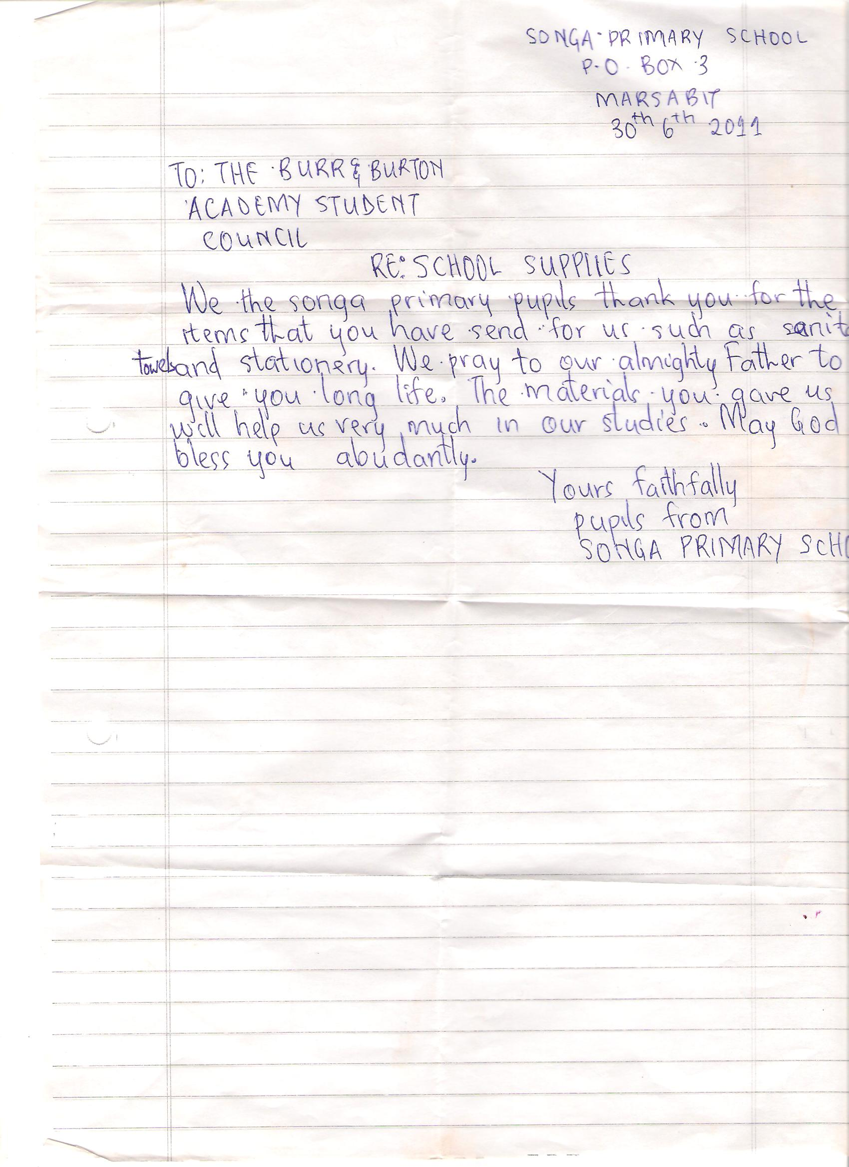 Letter to Burr and Burton academy.jpg