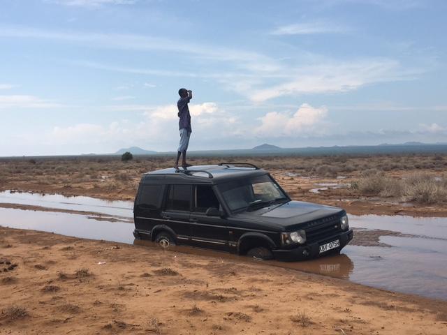 Sokotey on top of vehicle.JPG
