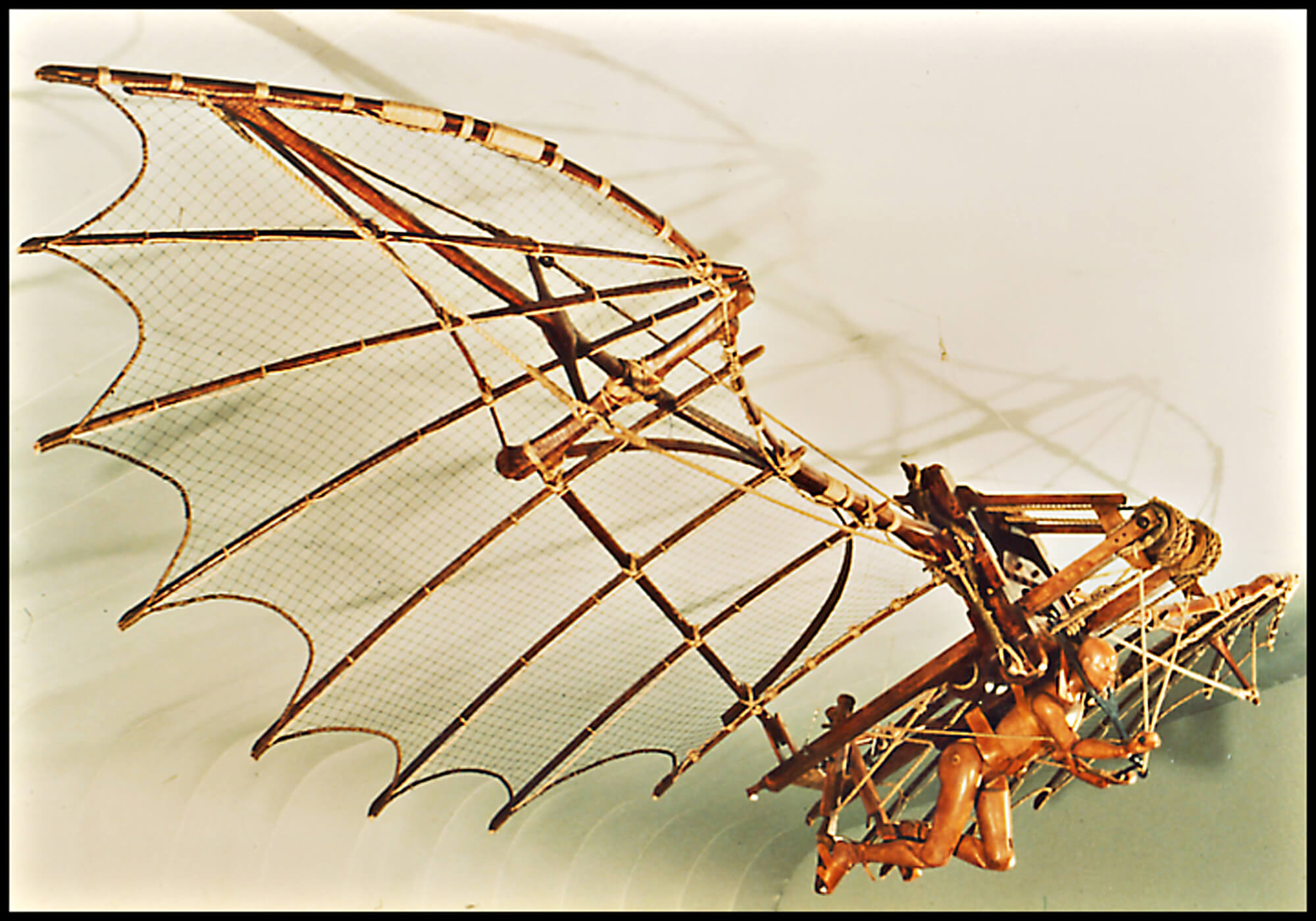Modern reconstruction of da Vinci design