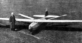 Adalbert Schmid 1942 manned ornithopter