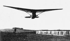 Lippisch manned ornithopter