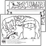 Smile Create Repeat Box Wrap  SANTA'S SLEIGH