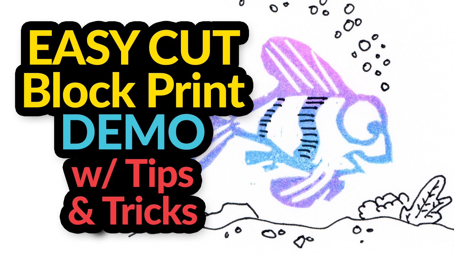 In this episode from Smile Create Repeat, artist/illustrator Tony Luongo takes you from his sketch book to a finished block print using a lino cutter and Easy Cut Block. Listen to him as he tries new techniques and discovers what works and what doesn't.  Illustration made using a variety of supplies from the August 2016 SmileCreateRepeat.com art supply subscription box.