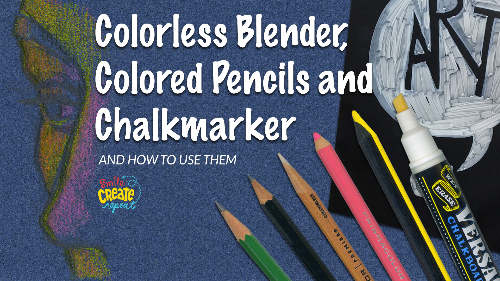 Check out our  YouTube demo  to preview a past colored pencil demo