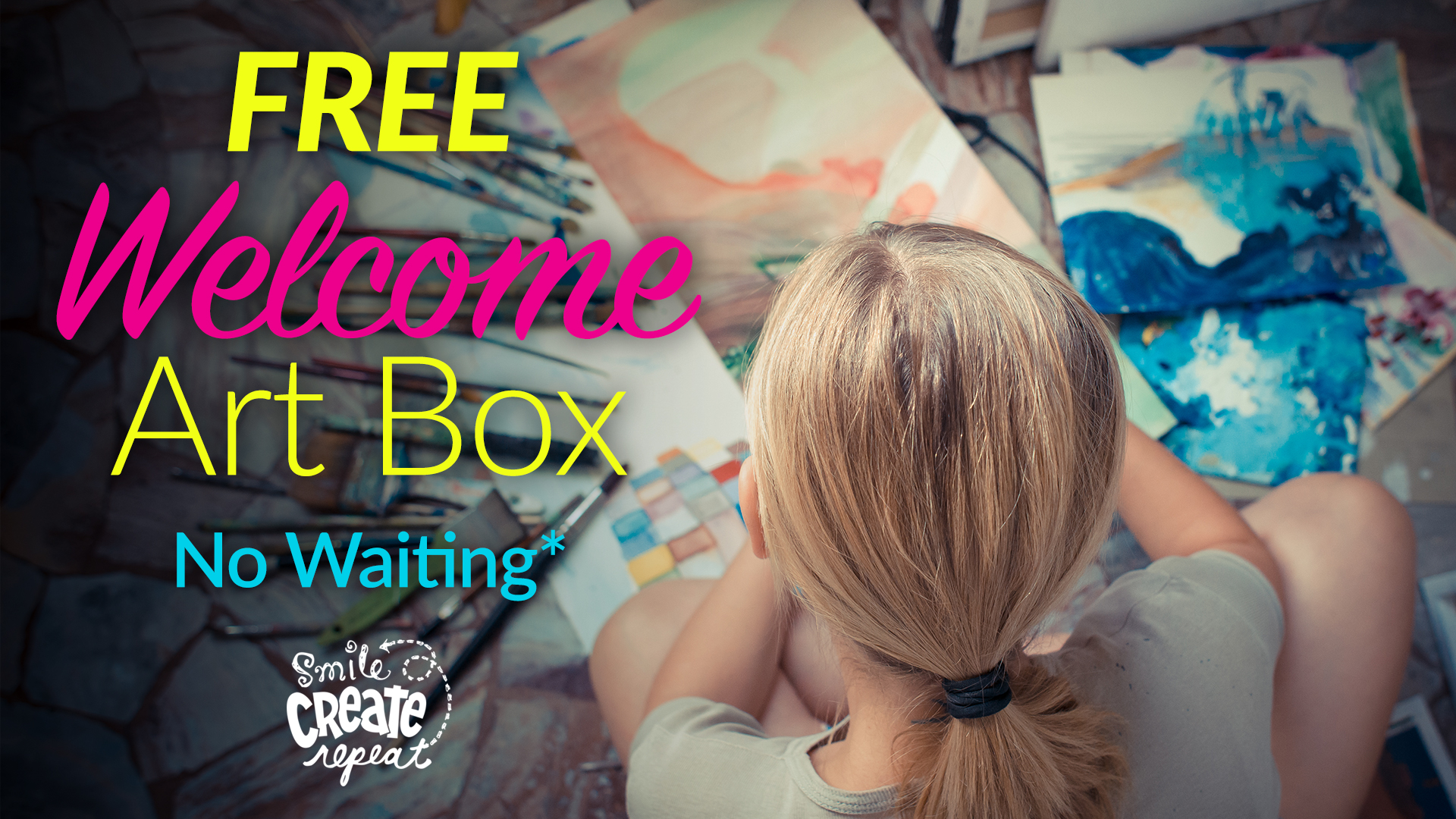Order a 6 or 12 month subscription today and start creating right away with your Welcome box ($30 value) ships free!