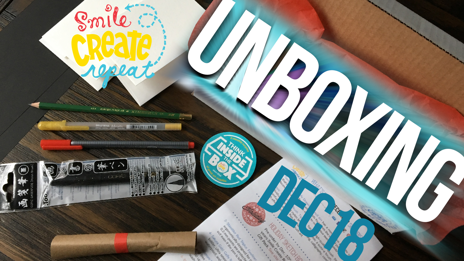 The winner of this Dec 2018 art supply box could be you! In this box, you will get products from Kimberly, Copic, Straedtler, Sakura, Strathmore, and fun extras! Our Creative Card and  art demo  will help you to explore your supplies and inspire creativity!