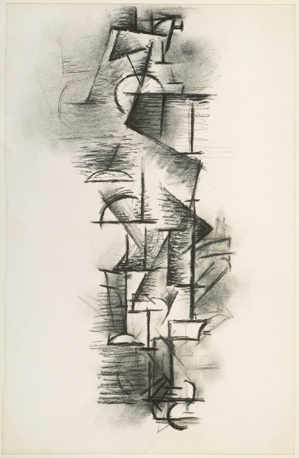 Pablo Picasso charcoal drawing  Image via    The MET
