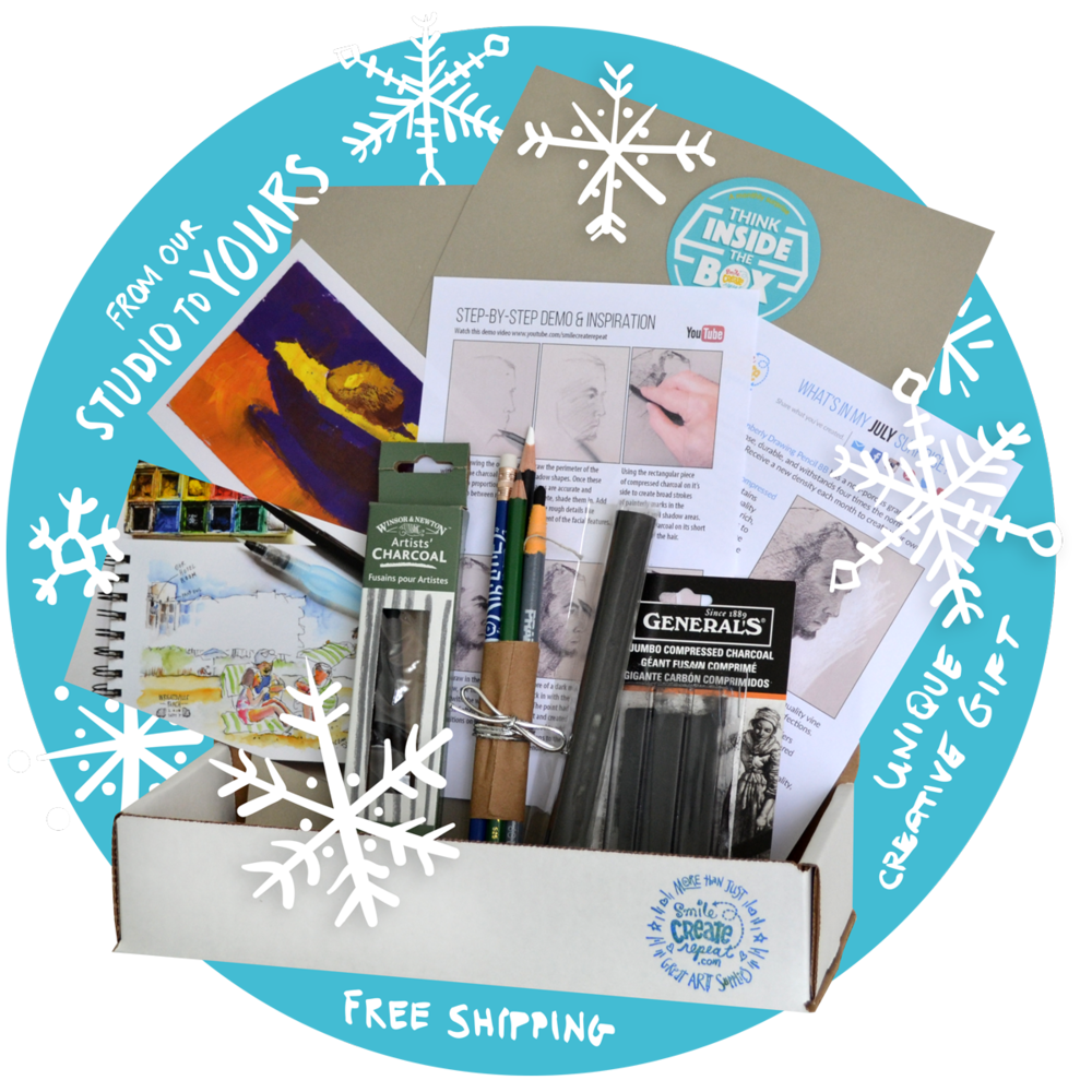 Deluxe Holiday Sketch Box