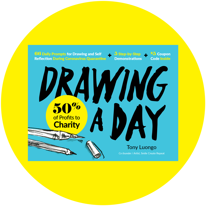 Coronavirus Drawing A Day Ebook Art Supply Subscription Box Smile Create Repeat