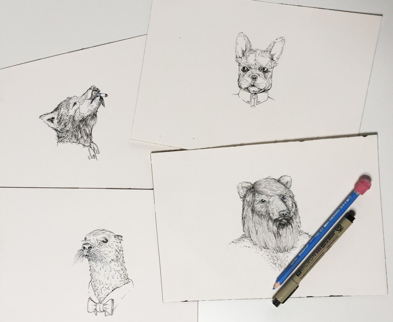 Original illustrations by Mac Taylor (@macsnotes) - our Senior Designer through Jan. 2015.