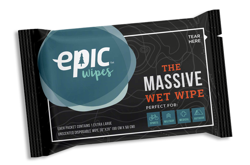 Epic Wipes Individual Pouch