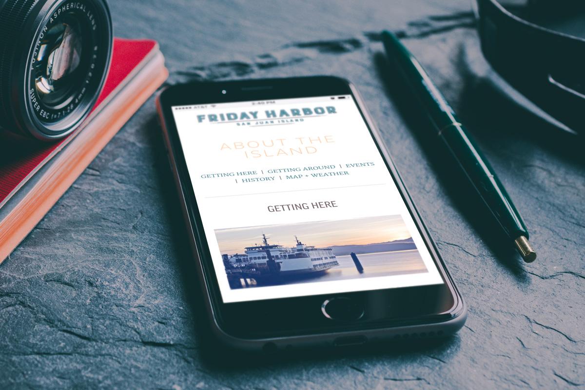 FridayHarbor.com Mobile