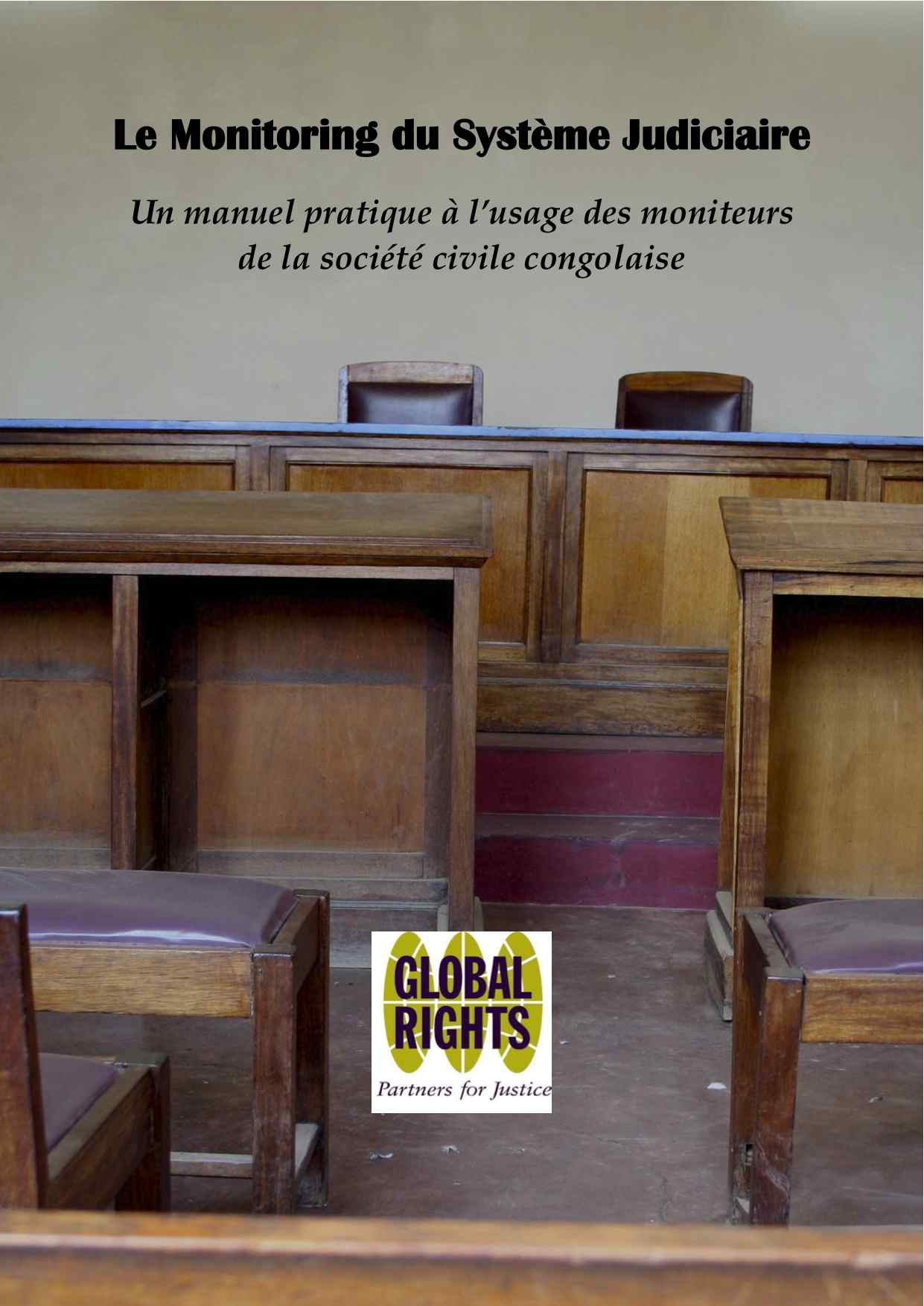 DRC Paralegal Judicial Monitoring Handbook (French)