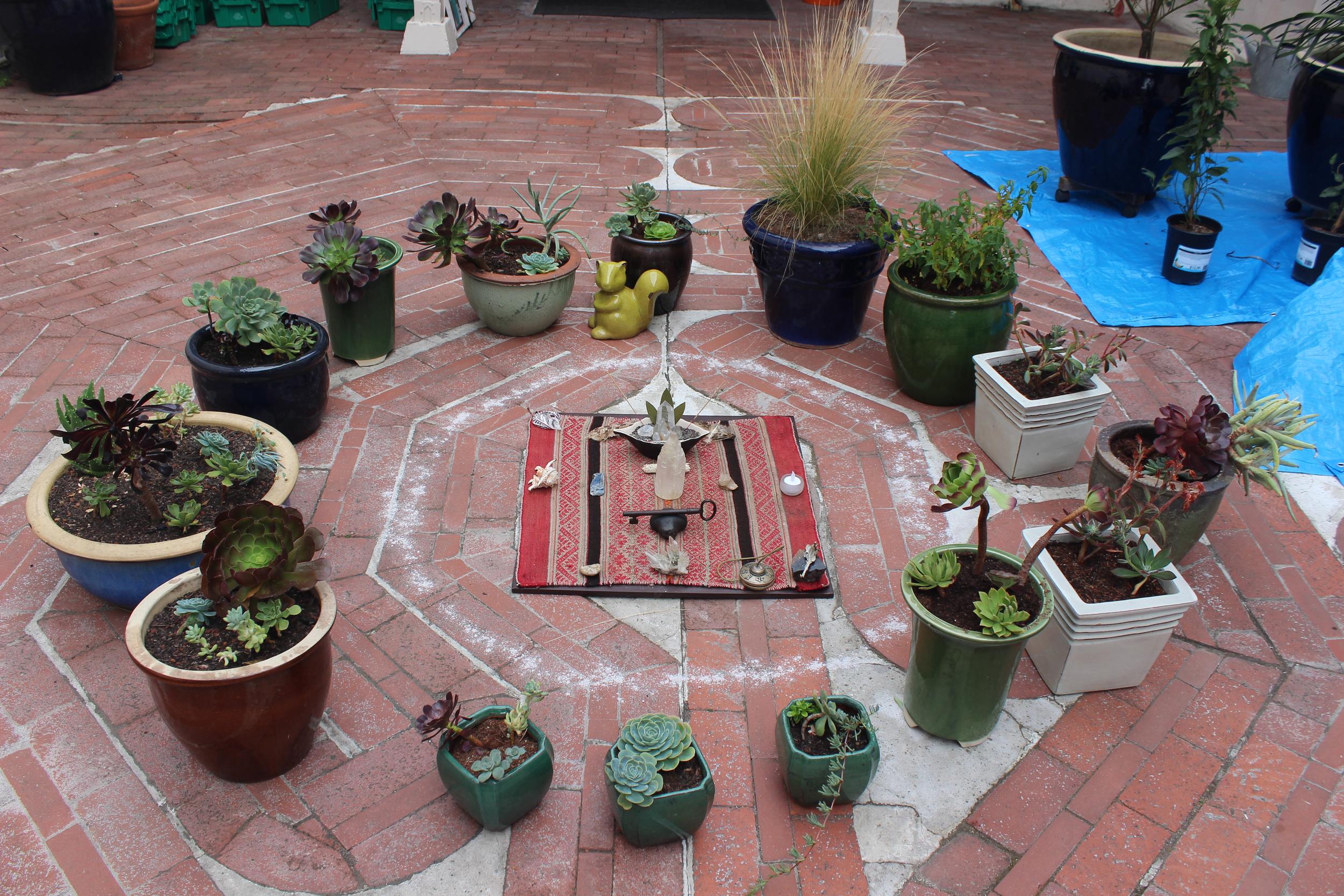 Labyrinth ceremony.JPG