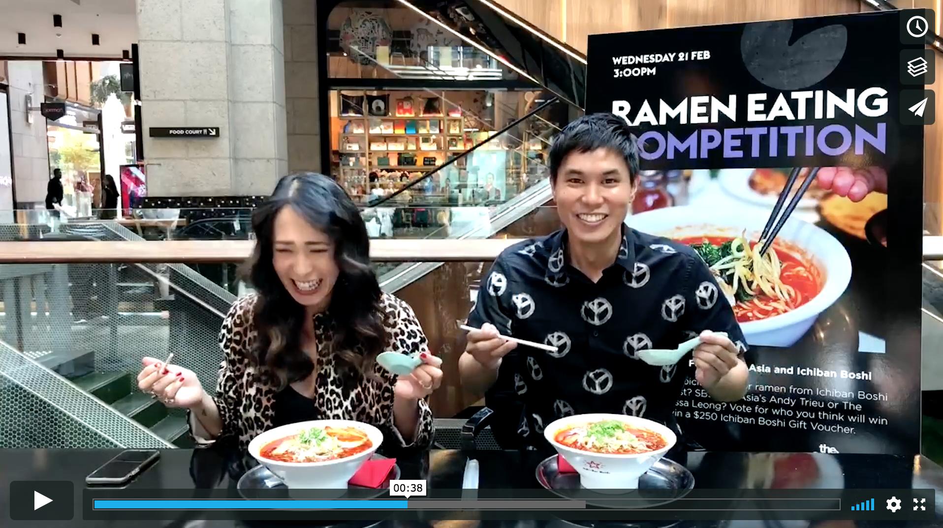 Melissa Leong Fooderati SBS Ramen Challenge