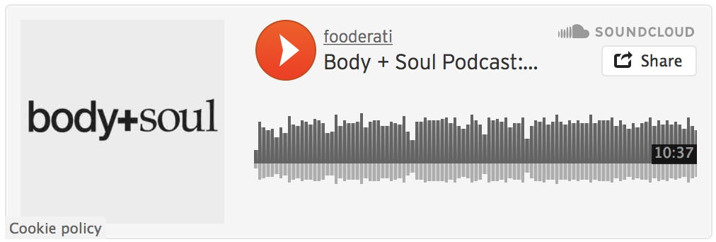 Body + Soul Podcast Link Melissa Leong