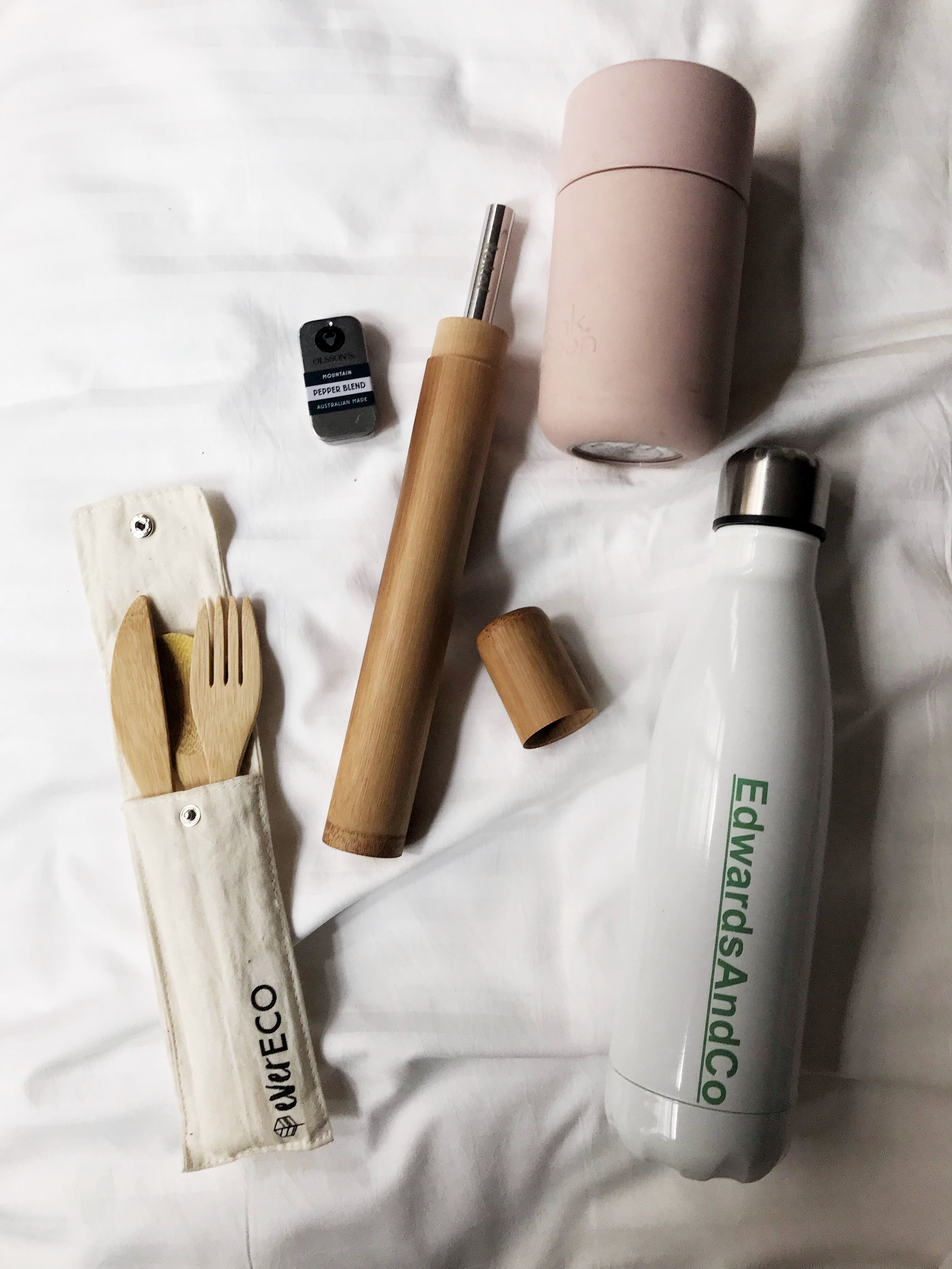 My sustainable travel kit