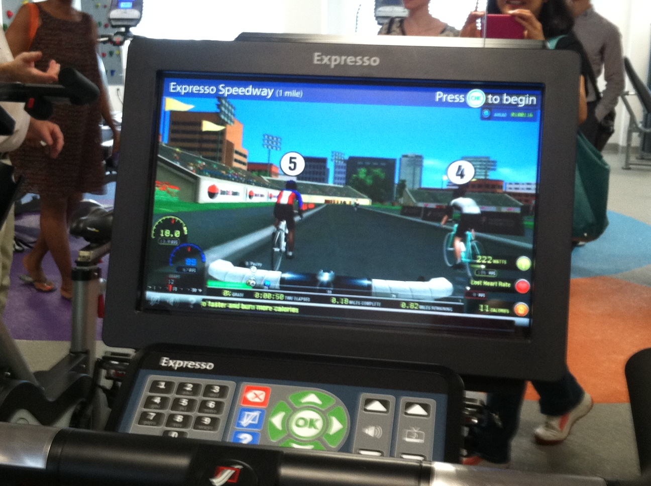 Arbor House_teen exercise bike with video game.jpg
